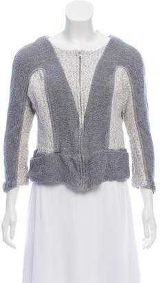 See by Chloe Knit Zip-Up Cardigan