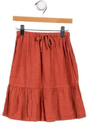 Caramel Baby & Child Girls' Linen Skirt