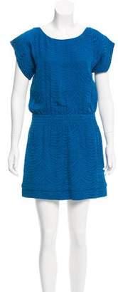 Rebecca Taylor Jacquard Mini Dress