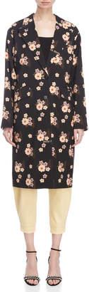 Miu Miu Floral Oversized Blazer