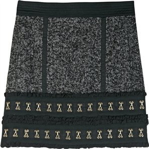 Luella Fitted Hip Skirt