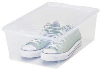 Iris 13.5 Quart Mens Shoe Storage Box