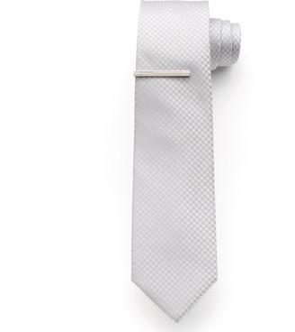 Apt. 9 Men's McVinney Check Tie With Tie Bar