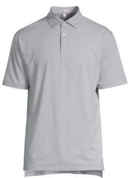 Peter Millar Crown Sport Stripe Polo Shirt