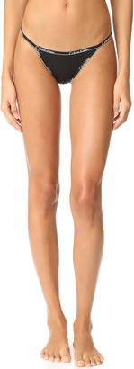 Calvin Klein Underwear Calvin Klein ID String Bikini Panties $20 thestylecure.com