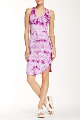 American Twist Rounded Tie-Dye Dress