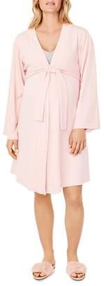 Ingrid & Isabel Maternity Kimono-Style Robe