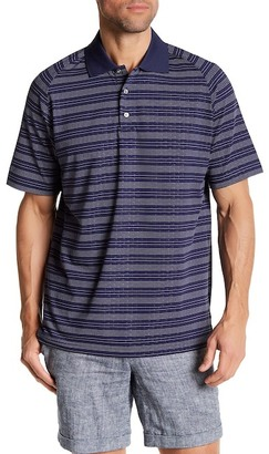 Lone Cypress Pebble Beach Embossed Moisture Wicking Golf Polo $59.50 thestylecure.com