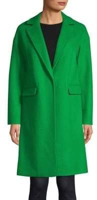 Topshop Lily Relaxed Crombie Coat