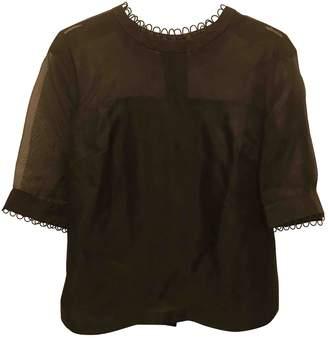 Orla Kiely Black Silk Top for Women