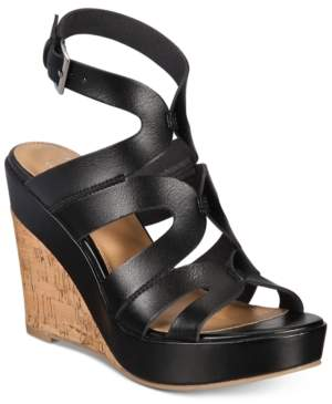 Material Girl Betssy Two-Piece Dress Sandals, Created for Macy's Women's Shoes