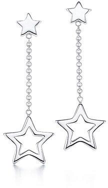 Star Link drop earrings