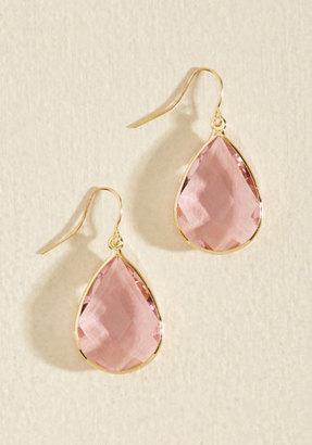 Receiving Drop Honors Earrings in Pink $8.99 thestylecure.com