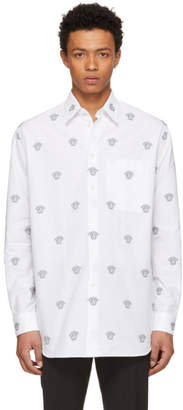Versace White All Over Medusa Shirt