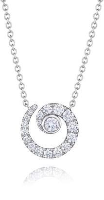 Kwiat Diamond Coil Pendant Necklace