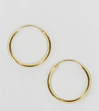 Asos (エイソス) - ASOS Gold Plated Sterling Silver 20mm Hoop Earrings
