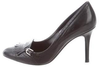 Ralph Lauren Purple Label Kiltie High-Heel Pumps