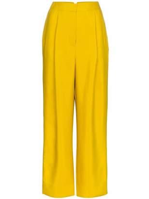 Roksanda radella wool-blend trousers