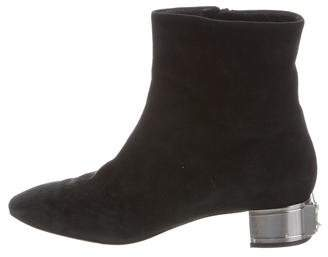 Casadei Round-Toe Ankle Boots