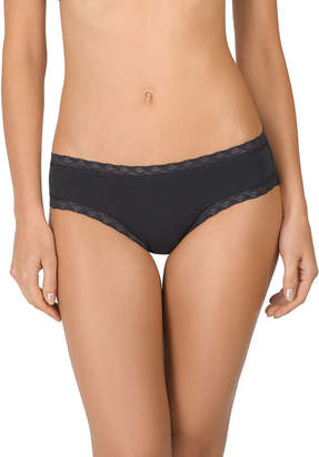 Natori Bliss Girl Lace-Trim Bikini Briefs
