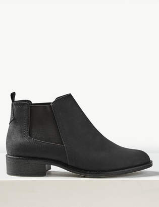b5afbdb7a37 M S CollectionMarks and Spencer Wide Fit Chelsea Ankle Boots