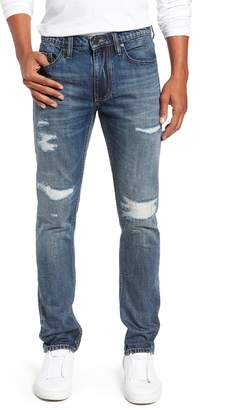 Blank NYC BLANKNYC Wooster Slim Fit Distressed Selvedge Jeans
