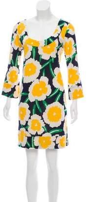 Diane von Furstenberg Stella Flower Tunic Dress w/ Tags