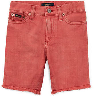 Ralph Lauren Slouch Slim-Fit Denim Shorts