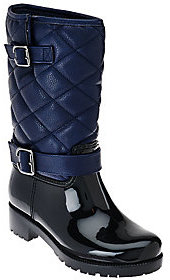 As Is BareTraps Waterproof Quilted Rainboots-Dolly $42.50 thestylecure.com