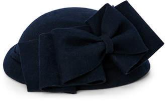 Kathy Jeanne Wool Felt Disc Bow Hat
