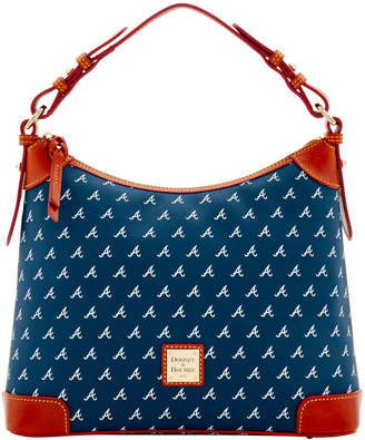 Dooney & Bourke MLB Braves Hobo