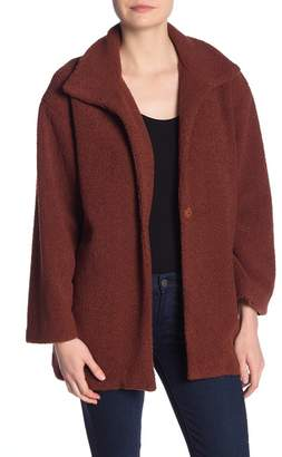 Kenneth Cole New York Soft Faux Shearling Jacket