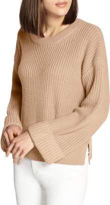 Sanctuary Bell Sleeve Shaker Sweater