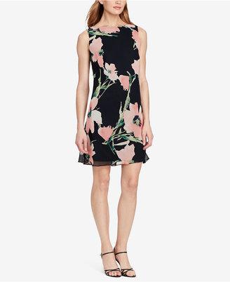 American Living Floral-Print A-Line Dress $79 thestylecure.com