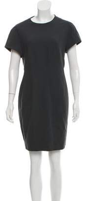 Narciso Rodriguez Short Sleeve Mini Dress Short Sleeve Mini Dress