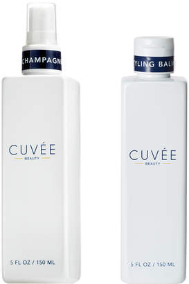 styling/ Cuvee Beauty Full-Size Champagne Spray & Full-Size Styling Balm