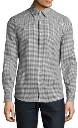 Michael Kors Gingham Stretch Shirt
