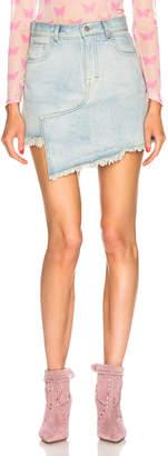 Sandy Liang Denim Skirt in Light Wash | FWRD