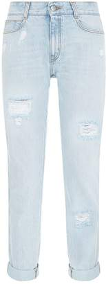 Stella McCartney Distressed Boyfriend Jeans