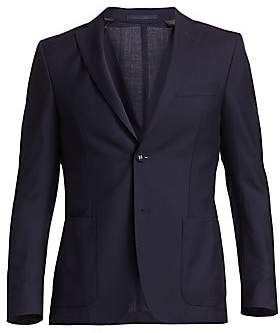 Officine Generale Men's Italian Fresco Wool Jacket