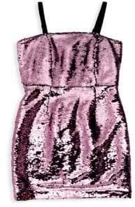 Milly Minis Girl's Sequin Dress
