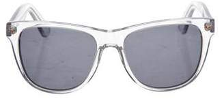 Selima Transparent Wayfarer Sunglasses
