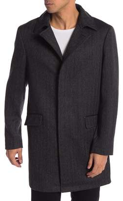 RODD AND GUNN Garlands Tweed Wool Coat