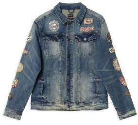 Buffalo David Bitton Joe Denim Trucker Jacket