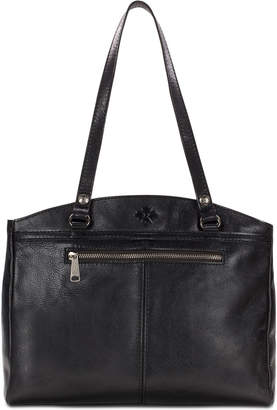 Patricia Nash Poppy Smooth Leather Shoulder Bag