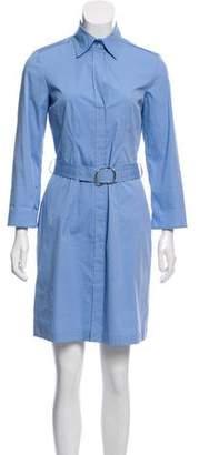 HUGO BOSS Boss by Collared Button Up Dress