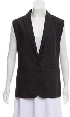 Brunello Cucinelli Striped Wool Vest
