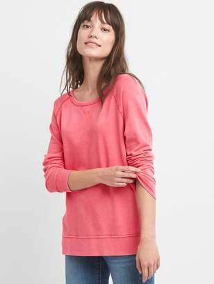 Gap Pullover Raglan Sweatshirt Tunic
