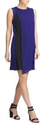 Donna Karan Colorblock Shift Dress