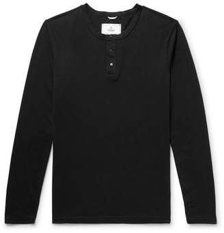Reigning Champ Ring-Spun Cotton-Jersey Henley T-Shirt